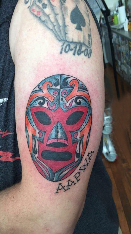 Tattoo mask boys on English and mask tattoo pictures