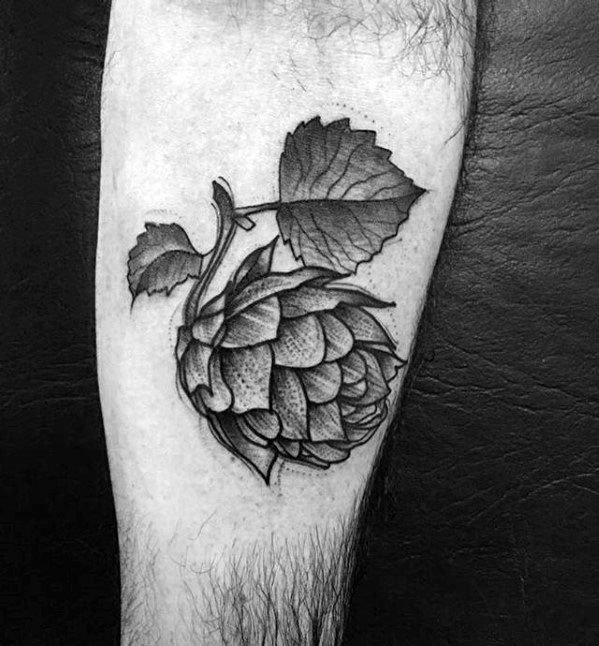 Beer tattoo pattern is a variety of refreshing beer series tattoo patterns