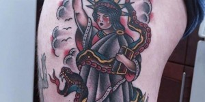 Tattoo free goddess thigh colorful traditional tattoo free goddess and snake flower tattoo pattern